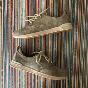 Reef Rover Low TX Sneaker Gray Sz 7 Lace Up NWOT